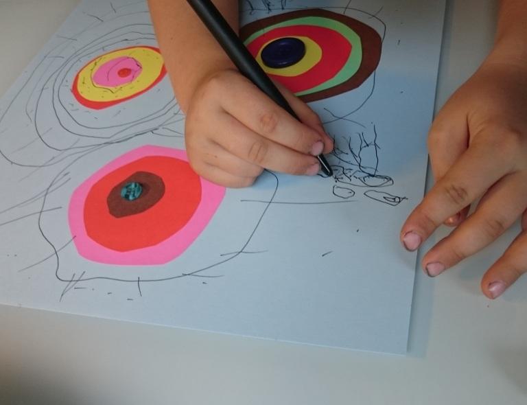 sirkler, penn, planeter,knapp